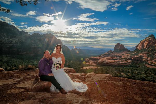 Michael and Jessica's Sedona Wedding