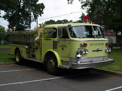 Clifton, NJ Fire Dept Safety Fair