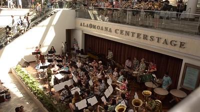 Mall concert
