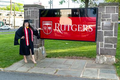New Brunswick, NJ - May 17:  Shirley's Graduation, New Brunswick, USA.