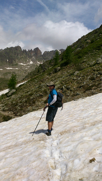 Walk from Val Gordolasque to Lacs de Prais. 900m vertical of stunning scenery!