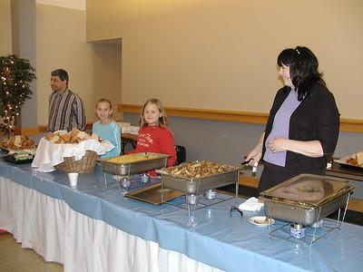 Community Life - Homeless Lunch - November 19, 2005