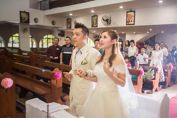 JieHong Church wedding