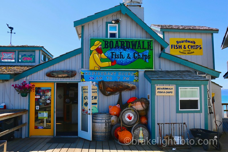 Boardwalk Fish & Chips, Homer