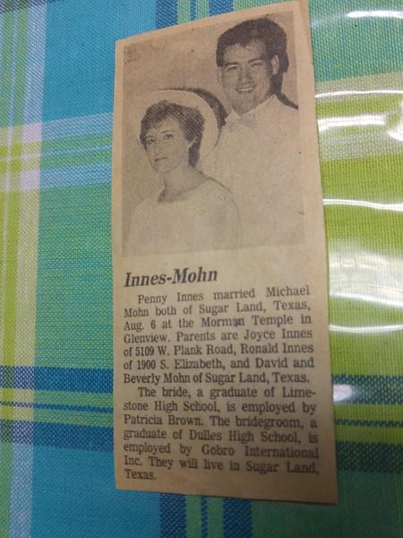 Peoria Journal Star August 1988