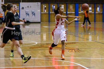 Girls Varsity Basketball v Langley 1/30/15