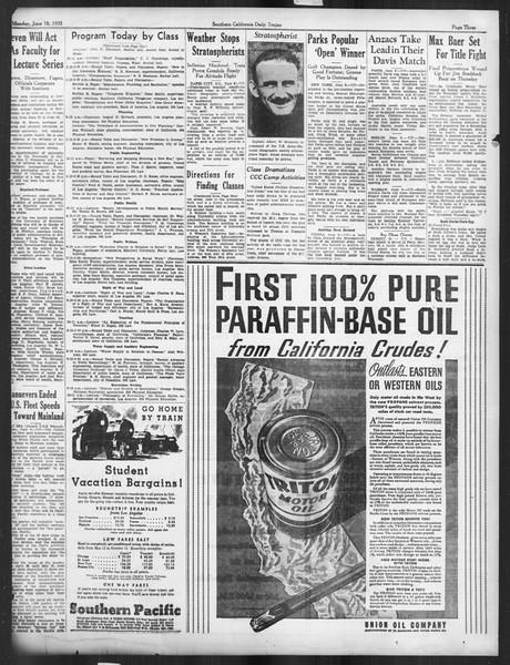 Daily Trojan, Vol. 26, No. 152, June 10, 1935