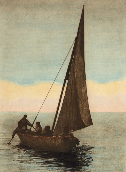 On Kotzebue Sound (The North American Indian, v. XX. Norwood, MA, The Plimpton Press,  1930)