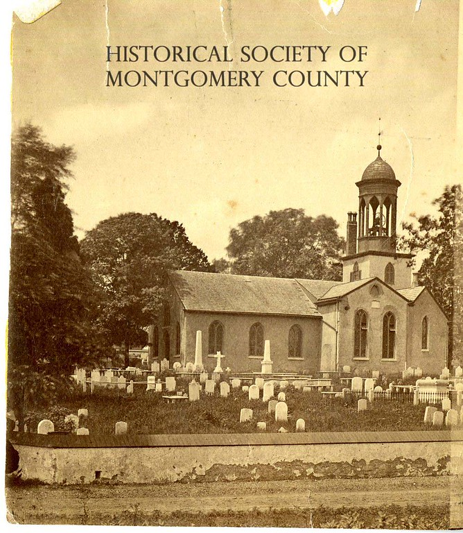 . This undated photo from the Historical Society of Montgomery County shows Old Swedes� Episcopal Church in Bridgeport.