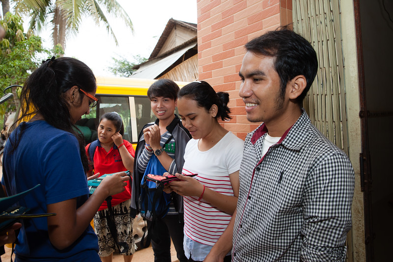 Youth Corps Singapore Project Team Wash at Sre Chea Village, Cambodia