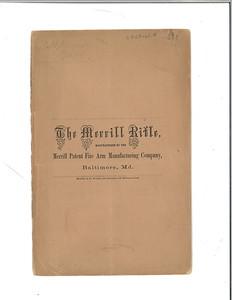 The Merrill Rifle (sales brochure)