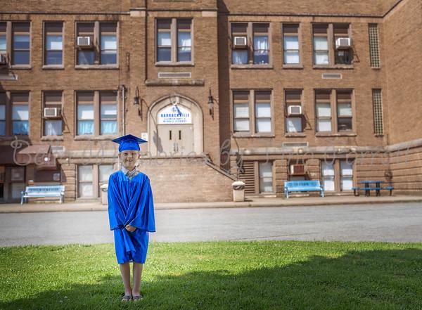 Ollie and Finn Graduation 2020