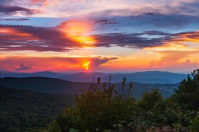 Beech Mountain Sunsets 2018