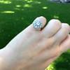 1.98ctw Art Deco Diamond Dome Ring 24