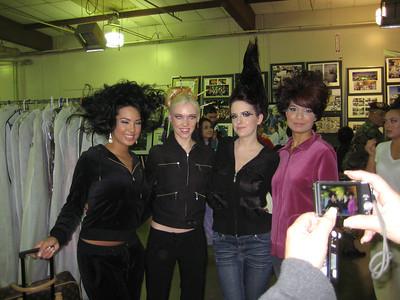 New Year's Fashion Show w/ Danielle 2010