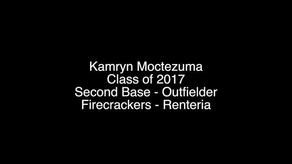 Kamryn Moctezuma - Firecrackers Softball