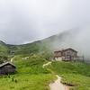 Cabins in the Mist, Bucegi, Romania