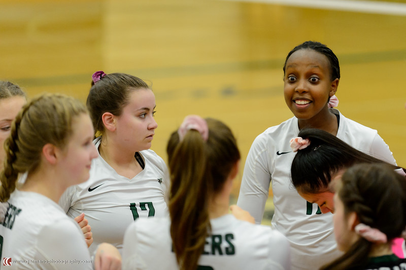 THS JV Volleyball vs Lakeridge