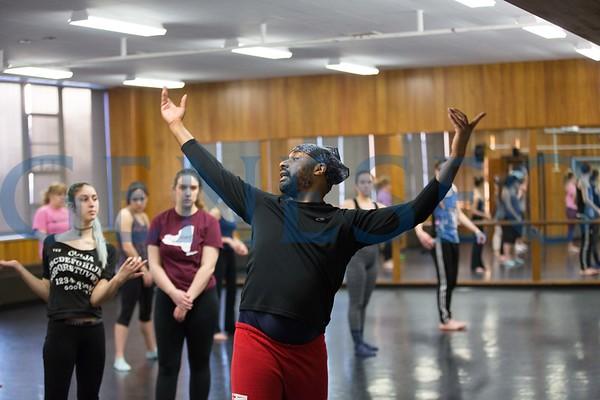 Modern Dance Class (For Video)