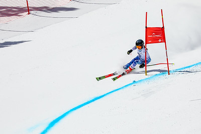Giant Slalom -  Mens Run One
