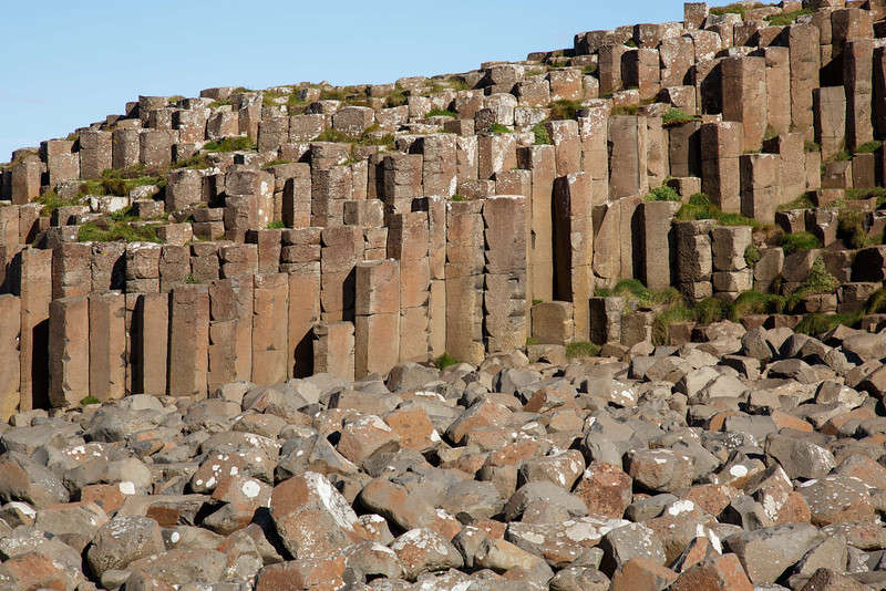 Giant's Causeway - basalt columns - Irish north coast