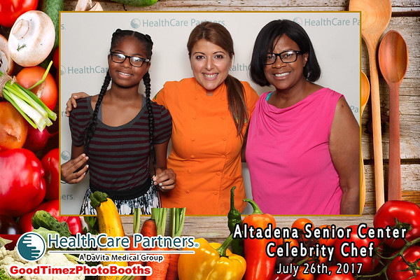 Altadena Senior Center Celebrity Chef