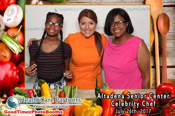 Altadena Senior Center Celebrity Chef