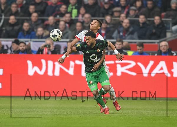 2018 Jan 21 - AJAX v Feyenoord