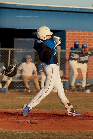 East Bladen 21 Whiteville baseball 4/27