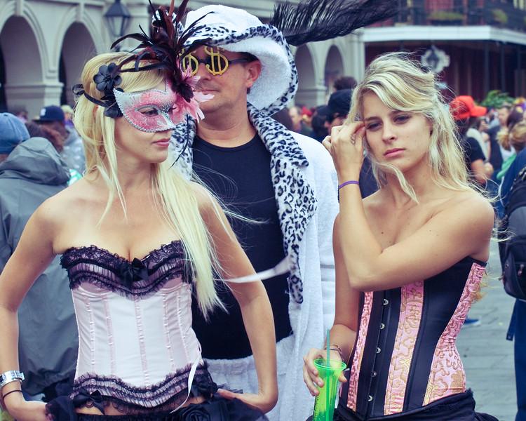 Ladies in Jackson Square