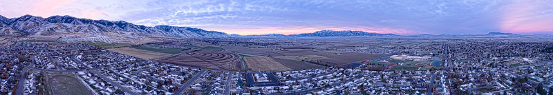 Sunrise after First Snow in Smithfield