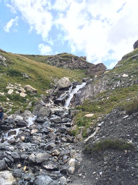 Stage 3 Les Chapieux to Refugio Elisabetta