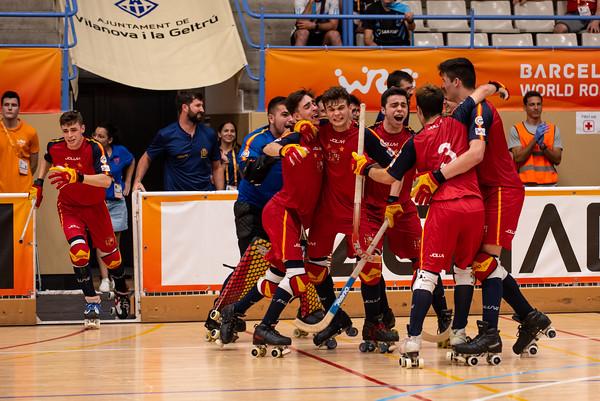Semifinal: Spain vs Portugal