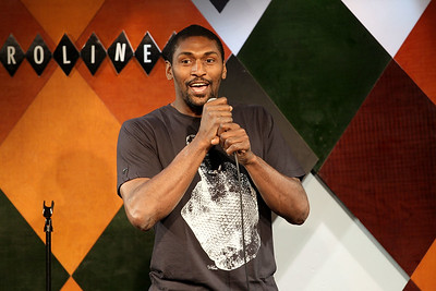 New York, NY - July 15:  Ron Artest - The Ultimate Tour Stand-Up Show, New York, USA.