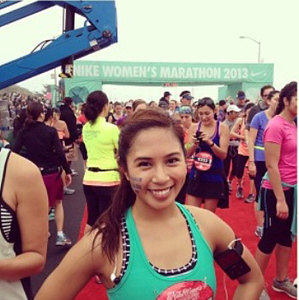 2016 USA Stephanie Loanzon is Running for a Cause