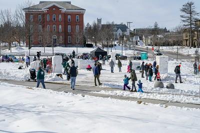 Winter Fest Snow Sculpture 2019
