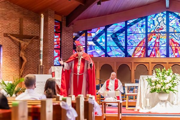 Saint Luke Confirmations - 11:30am - April 17, 2021