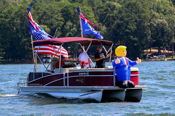 Trump Boat Parade 2020