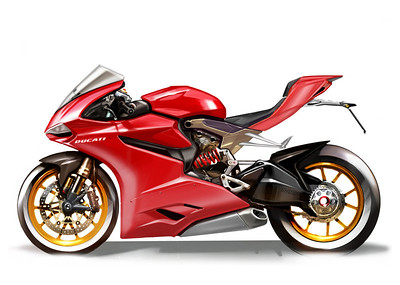 1199 Panigale Design Drawings