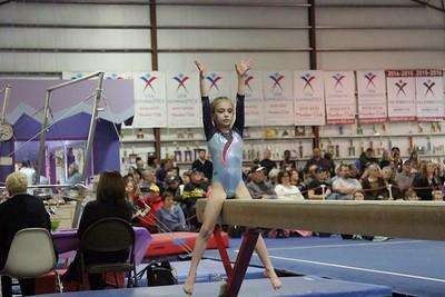 2016 PBM : Session 3 (1/30/16) : Ultimate Gymnastics : Beam