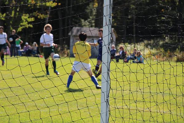 Boys Varsity Soccer 2013-2014 vs Putney