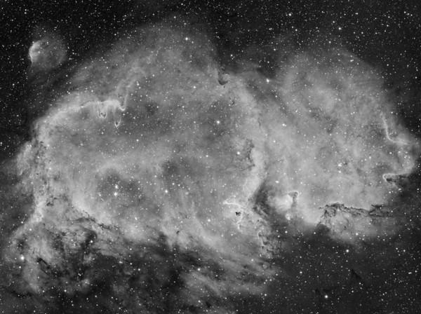 Nebulae in Black and White