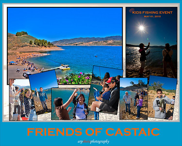 Friends of Castaic Kids Fishing Day