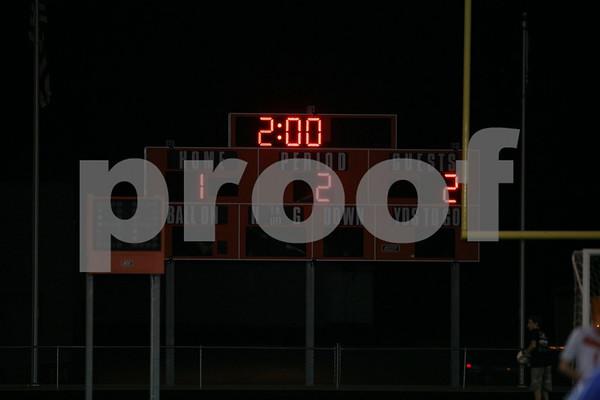 Varsity-Oak Grove vs Harrisonville 9-16-08