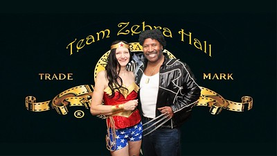Team Zebra Masquerade Party DSLR Booth
