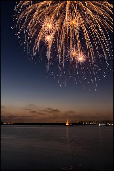 San Diego Fireworks  2016