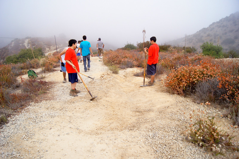 20110911027-Eagle Scout Project, Steven Ayoob, Verdugo Peak.JPG