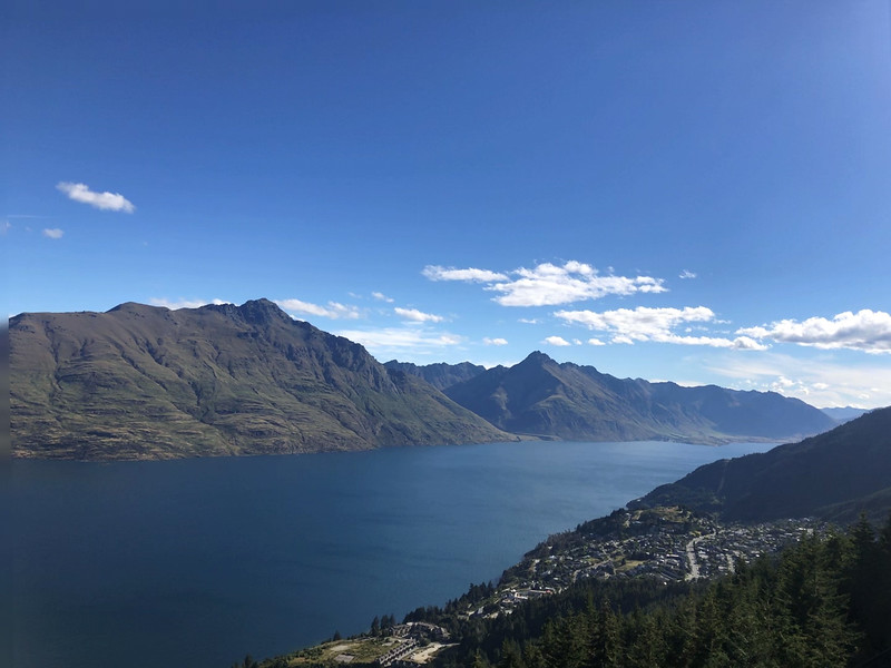 View from Highview Queenstown Apartments