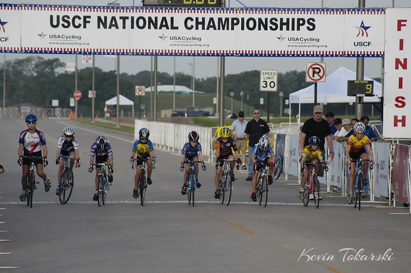 2003 USCF Junior Road Nationals - JW10-12 Criterium, July 6, 2003