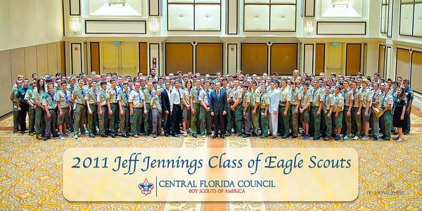 2011 Jeff Jennings Class of Eagle Scouts